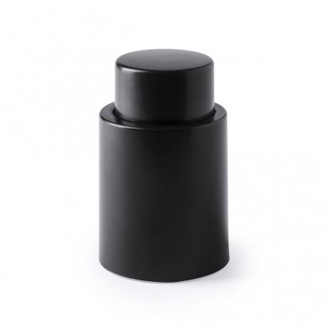 Bouchon pompe à vide personnalisé noir